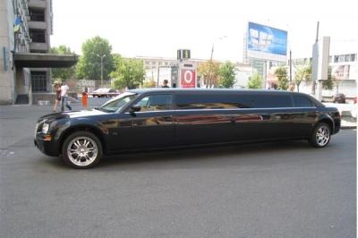 Chrysler 300C Limo Black_2