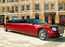 Chrysler 300C Limo Red