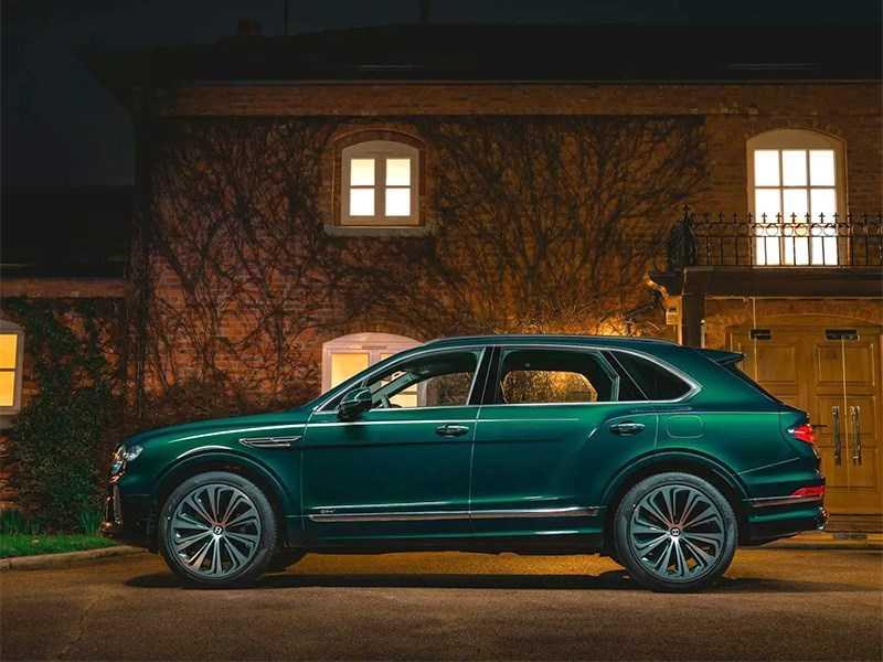 Ателье Mulliner представило роскошную версию Bentley Bentayga
