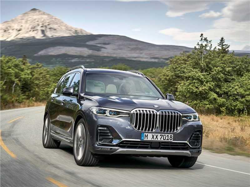 Новая модель BMW X7 - Гигант